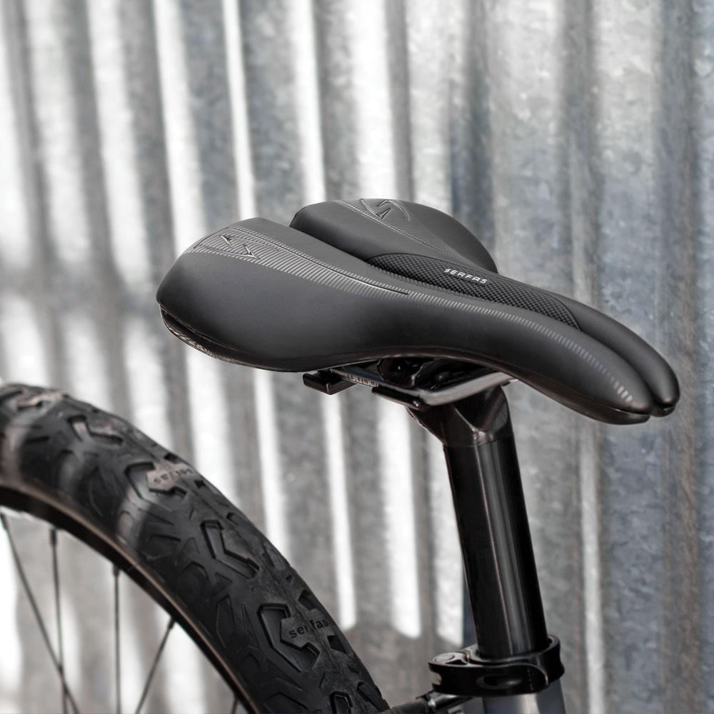 Serfas Men/'s Microfiber RX Bicycle Saddle