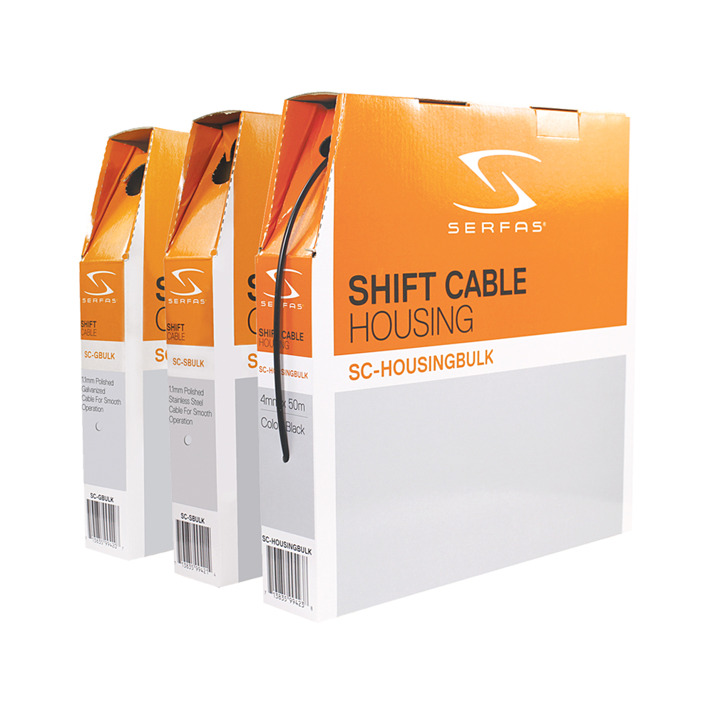 Galvanized Steel Serfas Shift Cable Kit