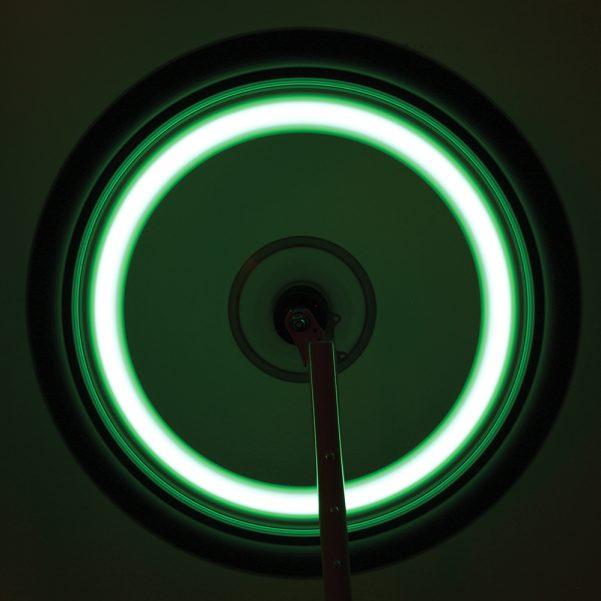 Green LED Spoke Light