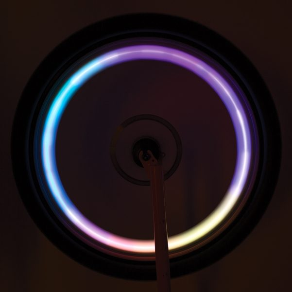 Multicolored LED Spoke Light
