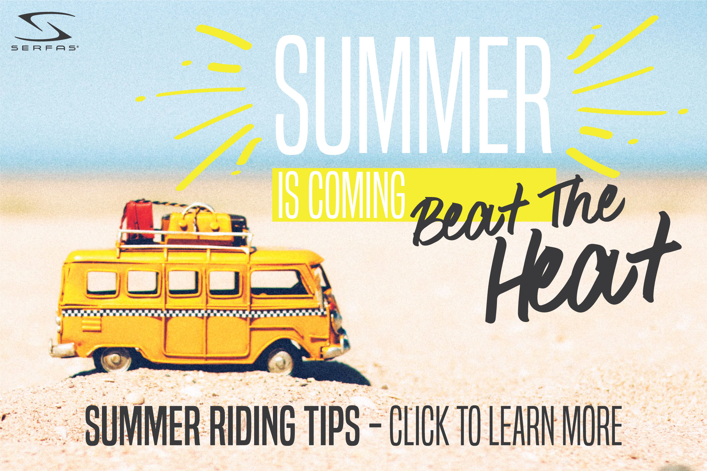 Get Ready For Summer Riding   Beat The Heat - Serfas e3891b91092